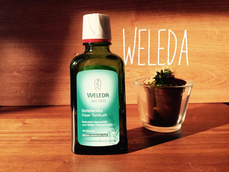 WELEDA(ヴェレダ)オーガニックヘアトニックでヘッドマッサージして頭皮ケア!