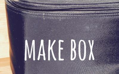 無印良品のナイロンメイクボックスで収納上手。