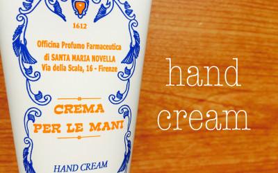 サンタマリアノヴェッラのハンドクリームが素敵すぎる!