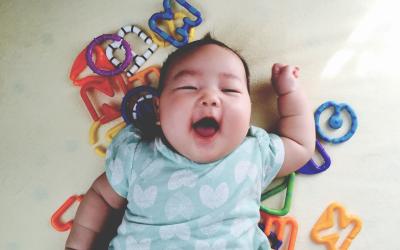 0~6か月の赤ちゃんにおもちゃを買ってみて、、、おすすめベスト3