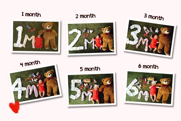 生後6か月・半年の頃までにあった赤ちゃんのイベント・行事について