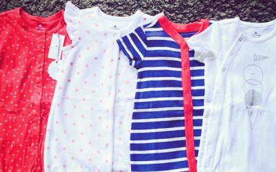 ベビーギャップの服のサイズ感!サイズは大きめ?新生児にベビーギャップは着せられる!?
