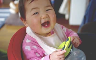 """赤ちゃんのストローマグ""""teteoマグバルーン""""は漏れない!?パーツ交換できるから衛生的!"""