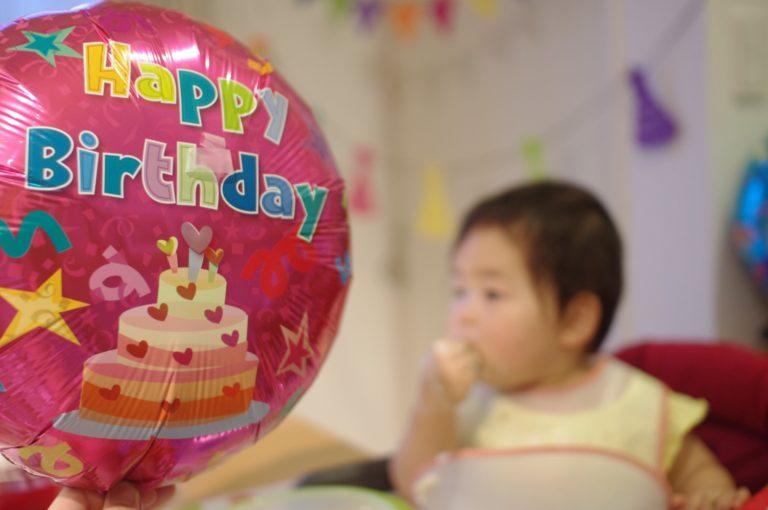 私事ですが、娘が1歳のお誕生日を迎えケーキを作ってお祝いしました