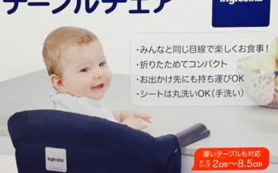 持ち運びの椅子イングリッシーナファストはいつから?いつまで?使い勝手は?
