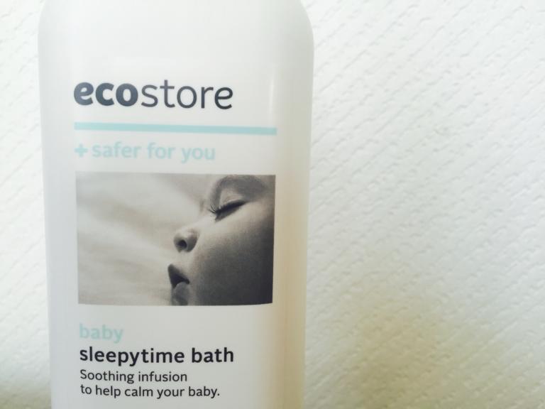 """ecostore(エコストア)の入浴剤""""ベビースリーピータイム""""は赤ちゃんでも使える入浴剤"""