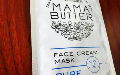 ママバターのフェイスクリームマスク ピュアはプリプリ肌になれる!楽ちんオールインワンのシートマスクでおすすめ
