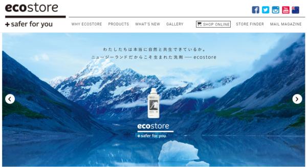 エコストアホームページ