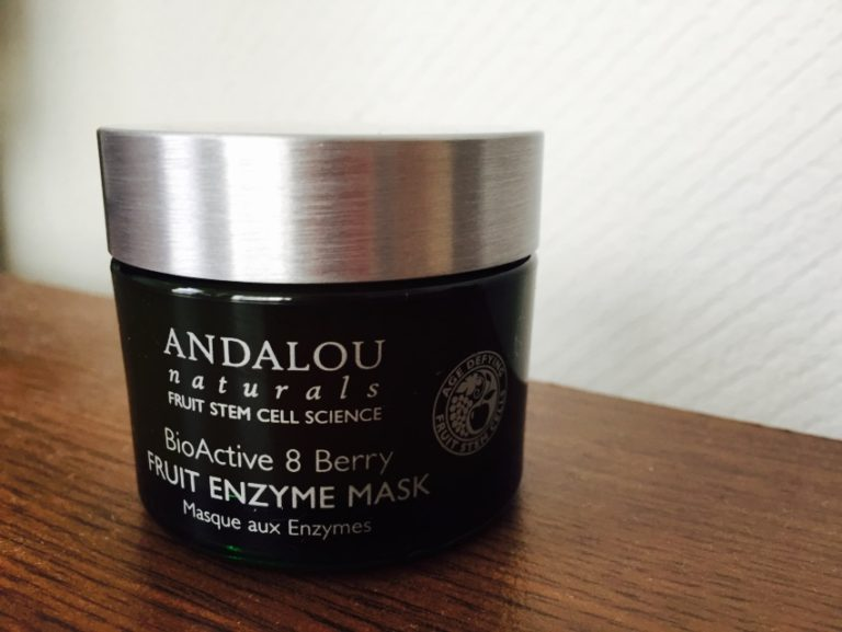 ANDALOU naturals(アンダルーナチュラルズ)の8ベリー フルーツエンザイムマスクって口コミ少ないけどどうなの?細胞が修復する!?