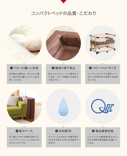 ファルスカベッド品質