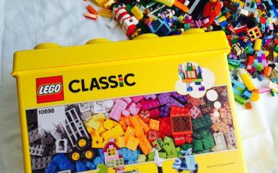 【LEGO】2歳でレゴブロックは早い!?対象年齢4歳からのレゴクラシックを娘に購入したレビュー