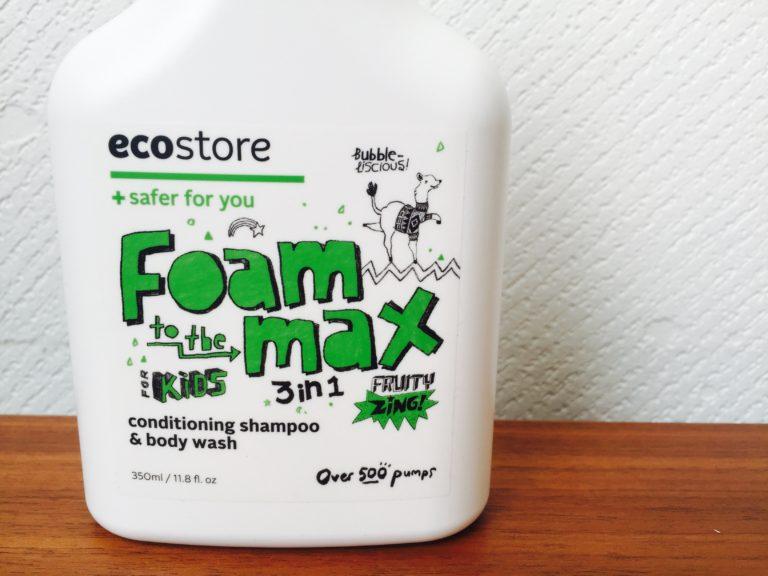 エコストアのキッズ 3in1ウォッシュは子どもを手早く洗えるお風呂アイテム