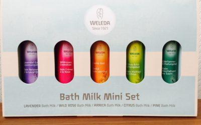 ヴェレダのバスミルクは5つの香りをお試しできるミニセット!半身浴にも♡