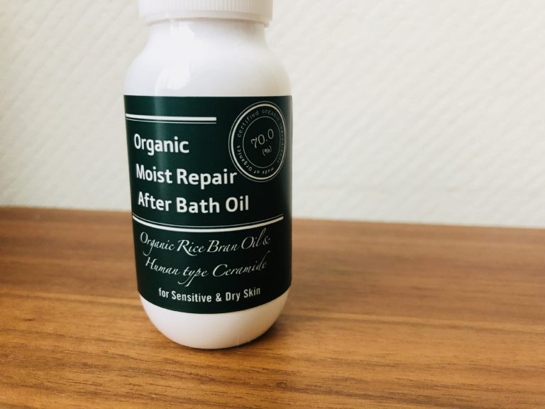 made of organicsモイストリペア アフターバスオイルで冬の乾燥性敏感肌を乗り切ろう!