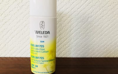 ヴェレダのエーデルワイスUVプロテクトが赤ちゃんと共有できる日焼け止めでおすすめ!!
