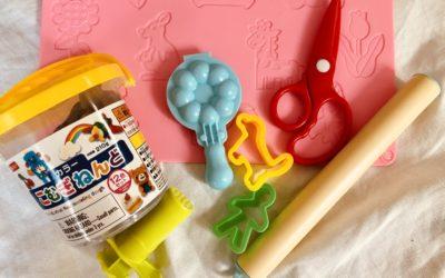 幼児の粘土デビューにおすすめDAISO(ダイソー)の粘土・粘土グッツ【粘土の復活のさせ方も】