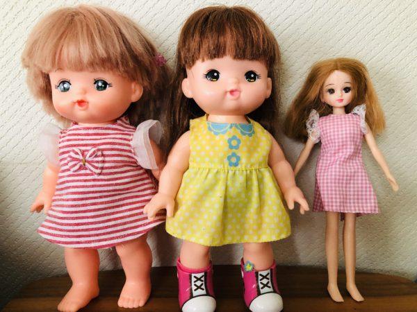 人形サイズ