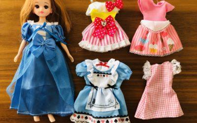 リカちゃん人形にダイソーのエリーちゃんの服やグッズが使えるのか、比較・耐久性も検証